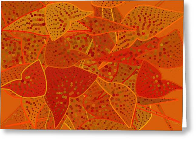 Apricot Greeting Cards - Abstract 132 Greeting Card by Victor Gladkiy
