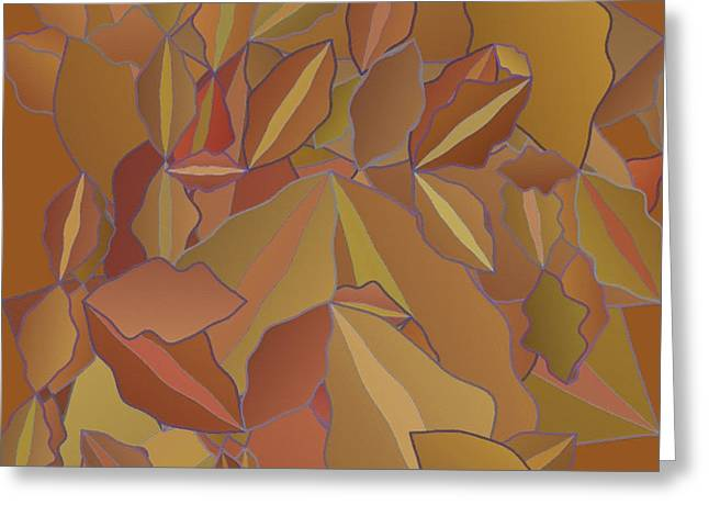 Apricot Greeting Cards - Abstract 133 Greeting Card by Victor Gladkiy