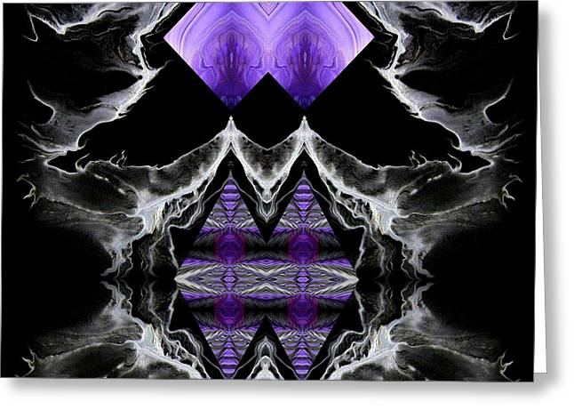 Bold Greeting Cards - Abstract 136 Greeting Card by J D Owen