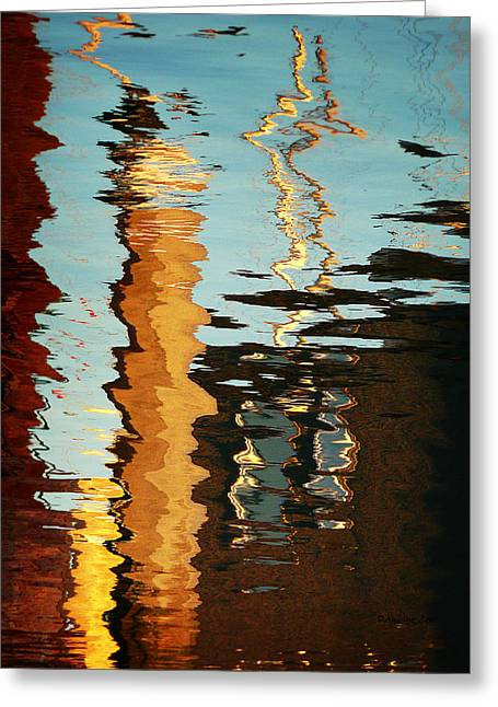 Original Photographs Greeting Cards - Abstract 14 Greeting Card by Xueling Zou