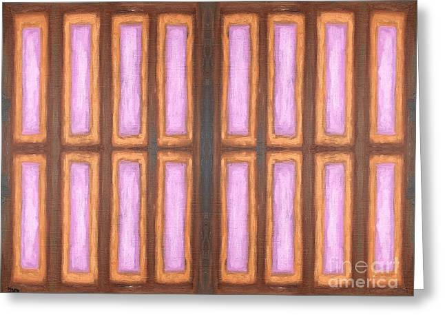 Tablets Mixed Media Greeting Cards - Abstract 145 Greeting Card by Patrick J Murphy