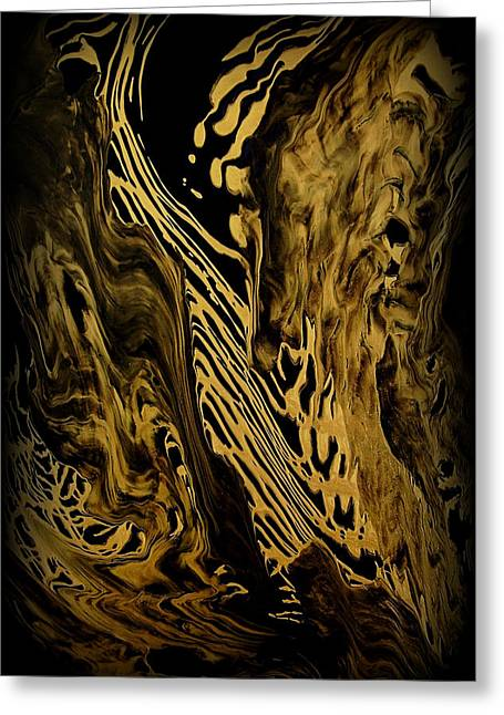 Wonderful Greeting Cards - Abstract 149 Greeting Card by J D Owen