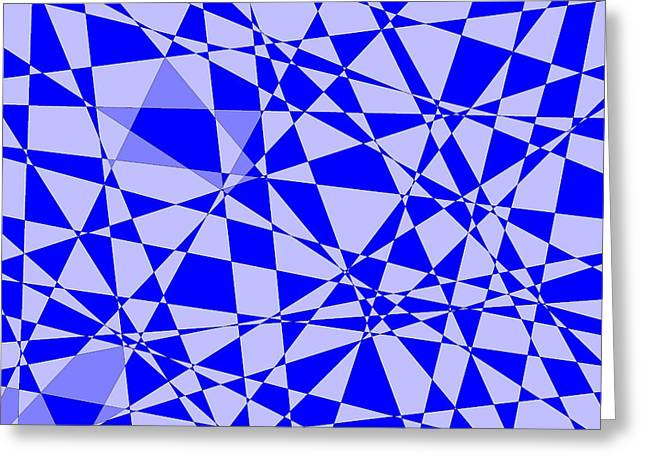 Abstract 151 Greeting Card by J D Owen