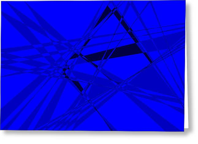 Abstract 156 Greeting Card by J D Owen