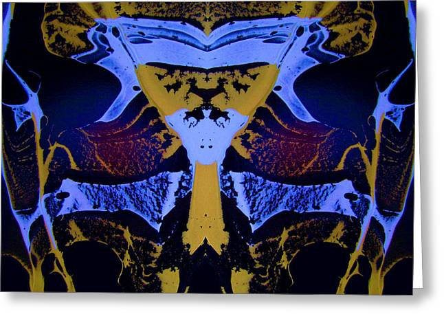 Digital Greeting Cards - Abstract 163 Greeting Card by J D Owen