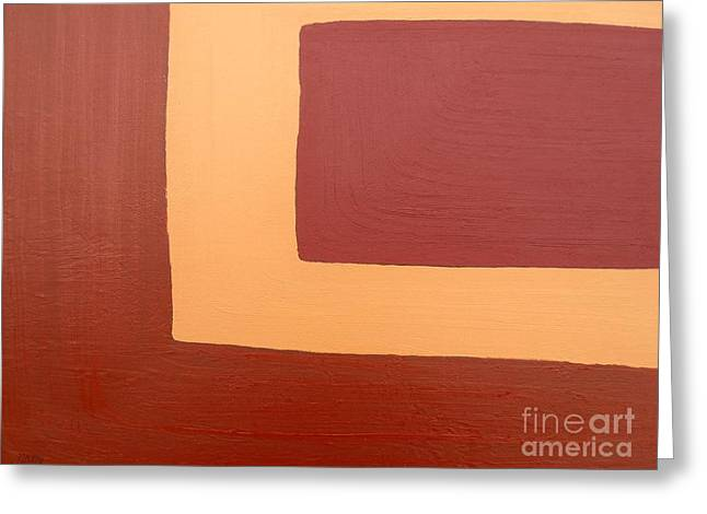 Modern Mobile Greeting Cards - Abstract 163 Greeting Card by Patrick J Murphy