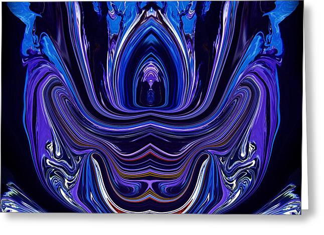 Abstract 174 Greeting Card by J D Owen