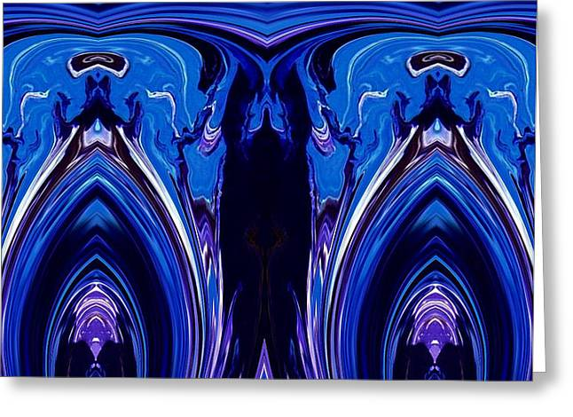Abstract 178 Greeting Card by J D Owen