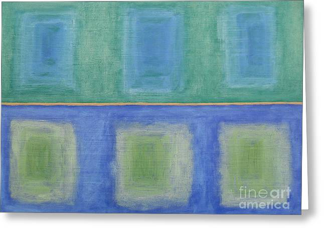 Modern Mobile Greeting Cards - Abstract 184 Greeting Card by Patrick J Murphy