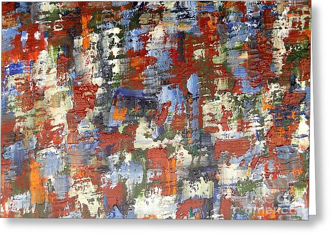 Hoodies Greeting Cards - Abstract 197 Greeting Card by Patrick J Murphy