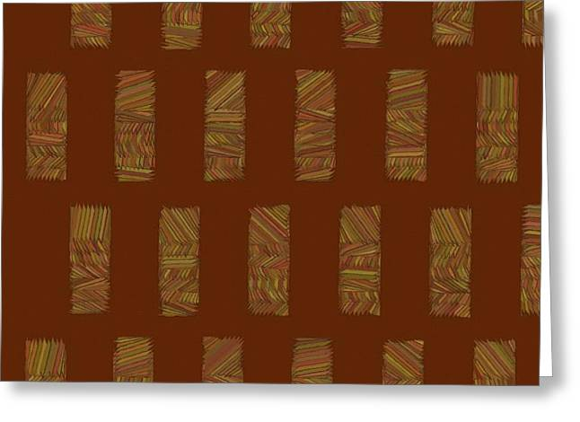 Abstract Style Greeting Cards - Abstract 199 Greeting Card by Victor Gladkiy