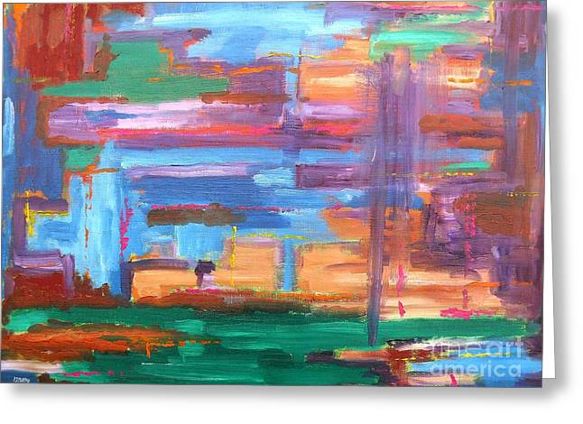 T Shirts Greeting Cards - Abstract 20 Greeting Card by Patrick J Murphy