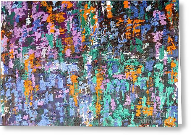 T Shirts Greeting Cards - Abstract 203 Greeting Card by Patrick J Murphy