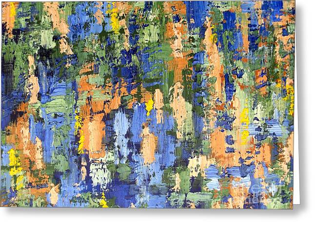 T Shirts Greeting Cards - Abstract 205 Greeting Card by Patrick J Murphy
