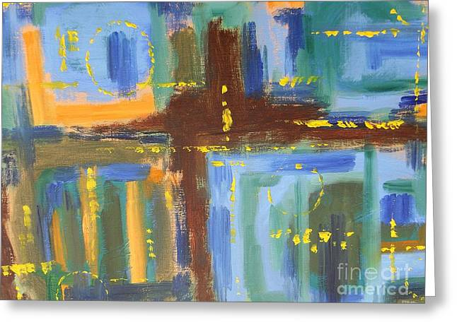Hoodies Greeting Cards - Abstract 211 Greeting Card by Patrick J Murphy