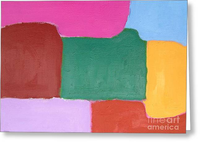 ABSTRACT 216 Greeting Card by Patrick J Murphy