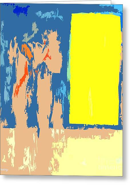 Postcards Mixed Media Greeting Cards - Abstract 225 Greeting Card by Patrick J Murphy