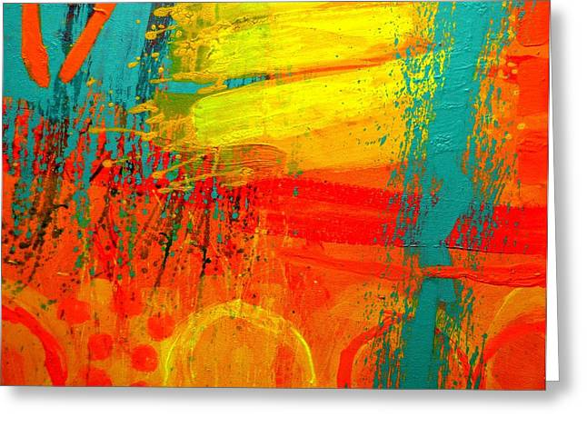 Abstract Art Greeting Cards Greeting Cards - Abstract 261114 Greeting Card by John  Nolan