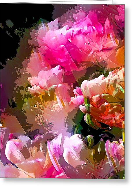 Pamela Cooper Greeting Cards - Abstract 272 Greeting Card by Pamela Cooper