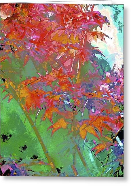 Pamela Cooper Greeting Cards - Abstract 289 Greeting Card by Pamela Cooper