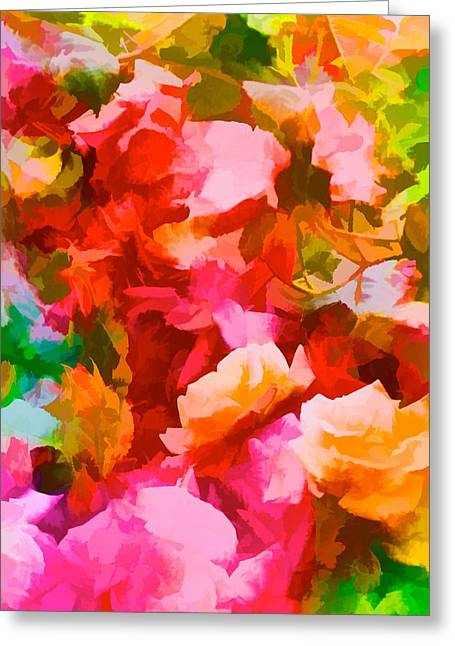 Pamela Cooper Greeting Cards - Abstract 298 Greeting Card by Pamela Cooper