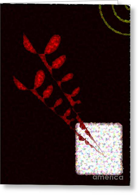 Keshava Greeting Cards - Abstract 3 Greeting Card by Keshava Shukla