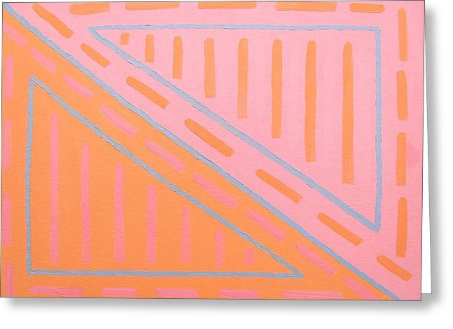 Print Card Greeting Cards - Abstract 406 Greeting Card by Patrick J Murphy