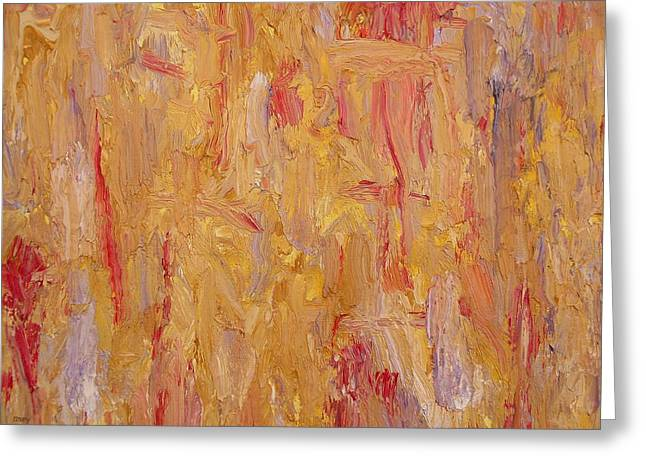 Hofmann Prints Greeting Cards - Abstract 410 Greeting Card by Patrick J Murphy