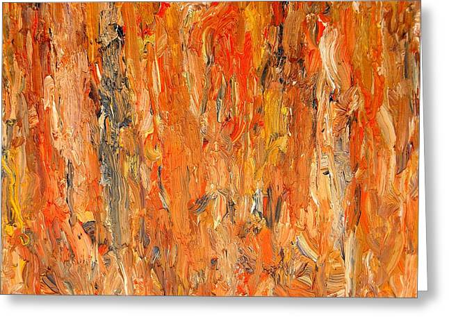 Hofmann Prints Greeting Cards - Abstract 411 Greeting Card by Patrick J Murphy