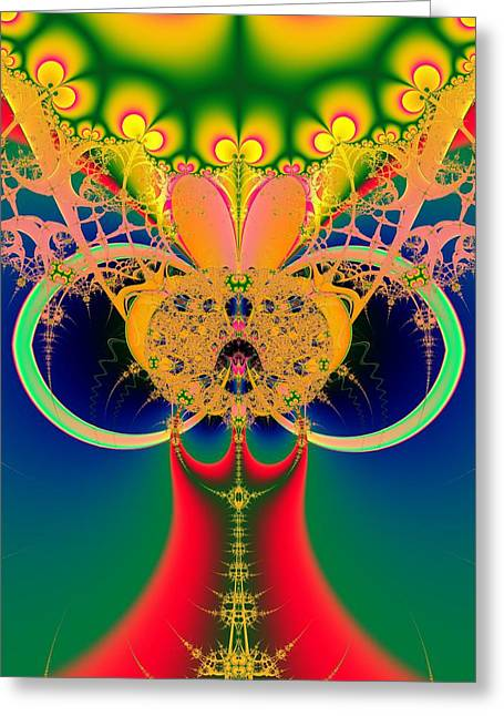 Fashion Art For House Greeting Cards - Glamour and Fashion Greeting Card by Solomon Barroa
