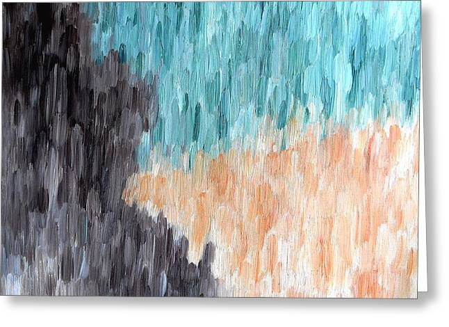 Tablets Paintings Greeting Cards - Abstract 446 Greeting Card by Patrick J Murphy
