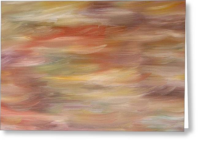 Tablets Paintings Greeting Cards - Abstract 447 Greeting Card by Patrick J Murphy