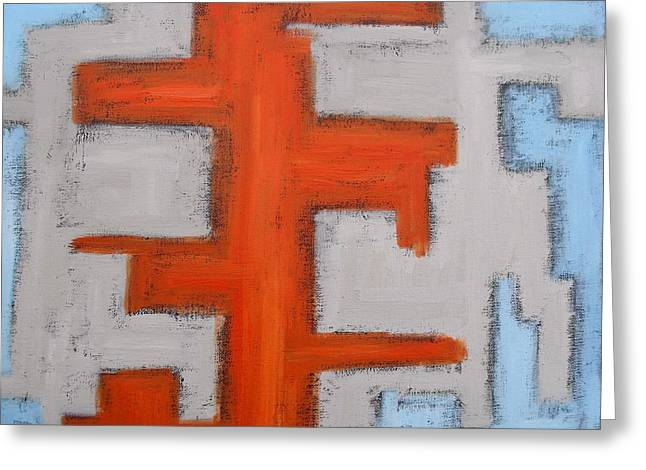 Tablets Greeting Cards - Abstract 455 Greeting Card by Patrick J Murphy