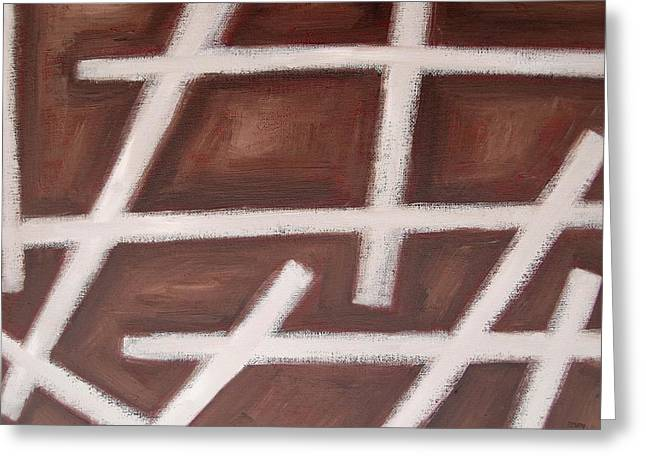 Tablets Paintings Greeting Cards - Abstract 459 Greeting Card by Patrick J Murphy