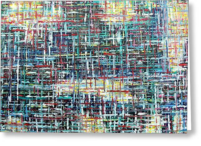 Tablets Greeting Cards - Abstract 464 Greeting Card by Patrick J Murphy