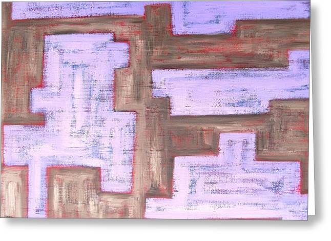 Tablets Greeting Cards - Abstract 466 Greeting Card by Patrick J Murphy