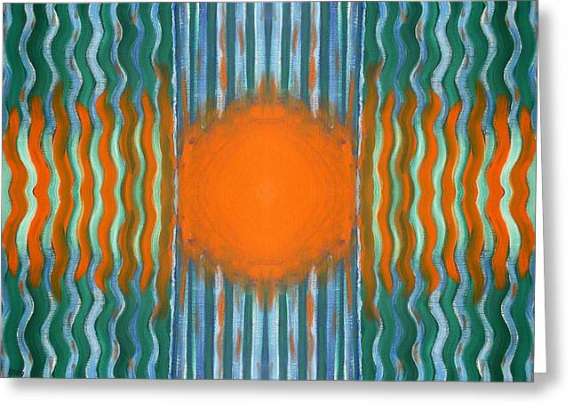 Artcards Greeting Cards - Abstract 481 Greeting Card by Patrick J Murphy