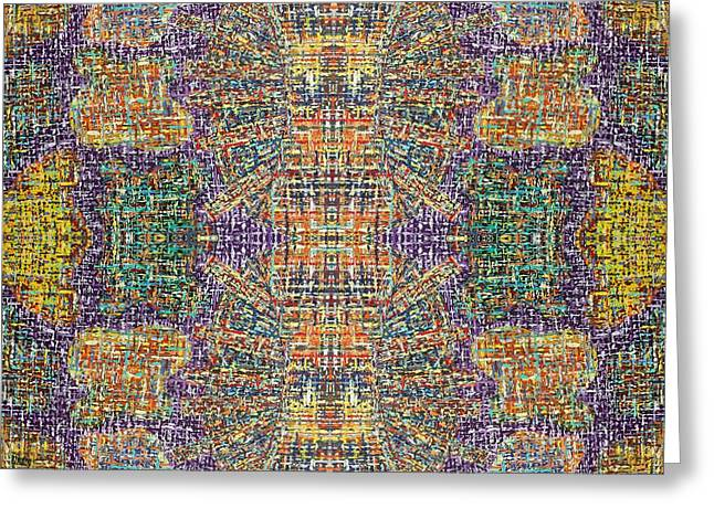 Modern Greeting Cards - Abstract 482 Greeting Card by Patrick J Murphy