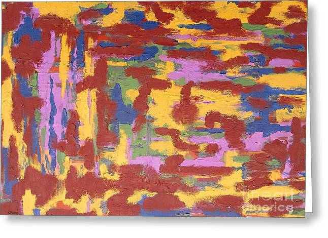 Hoodies Greeting Cards - Abstract 50 Greeting Card by Patrick J Murphy