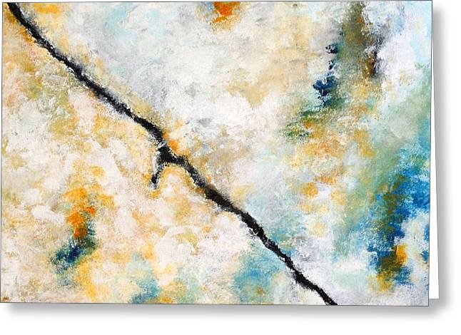 In Shade Greeting Cards - Abstract 501 Greeting Card by Marie Bretz