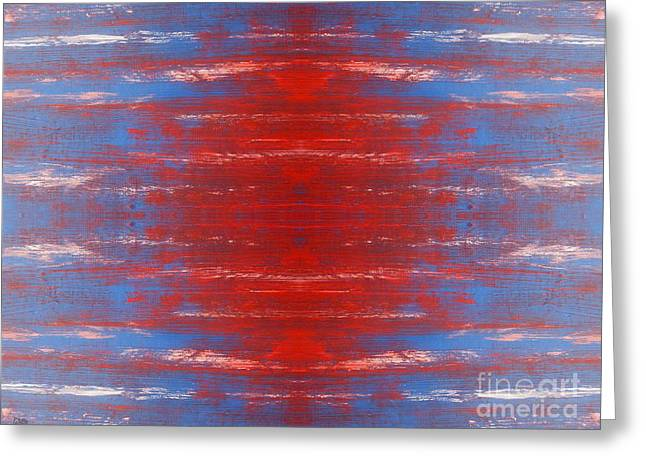 T Shirts Greeting Cards - Abstract 501 Greeting Card by Patrick J Murphy