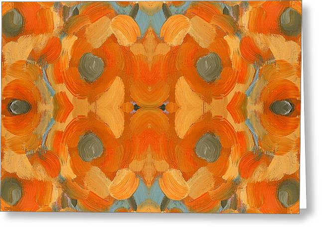 Tablets Greeting Cards - Abstract 517 Greeting Card by Patrick J Murphy