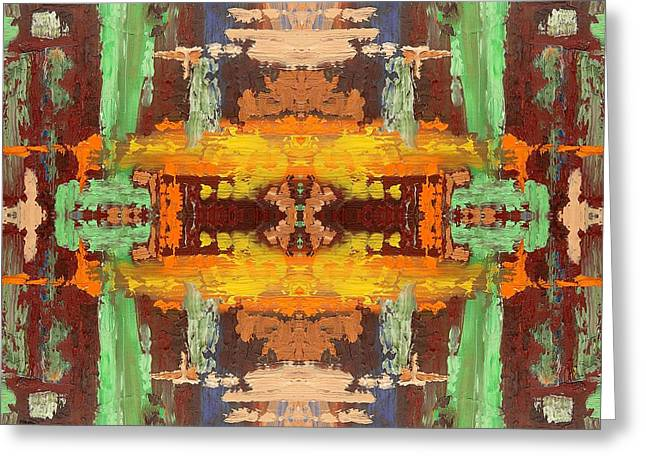 Tablets Greeting Cards - Abstract 522 Greeting Card by Patrick J Murphy