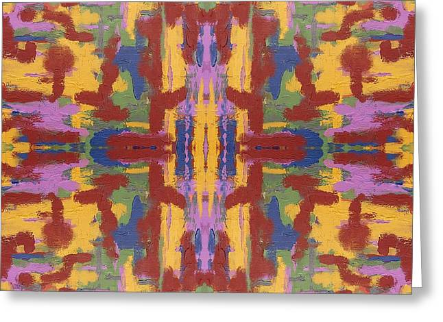 Tablets Greeting Cards - Abstract 523 Greeting Card by Patrick J Murphy