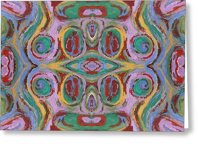 Tablets Greeting Cards - Abstract 530 Greeting Card by Patrick J Murphy