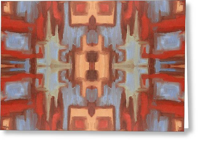 Tablets Greeting Cards - Abstract 531 Greeting Card by Patrick J Murphy