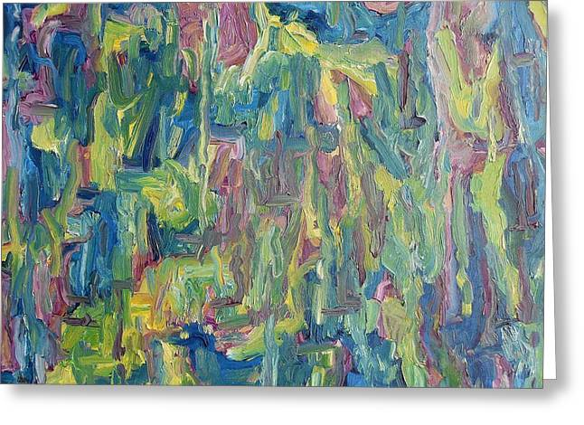 T Shirts Greeting Cards - Abstract 700 Greeting Card by Patrick J Murphy