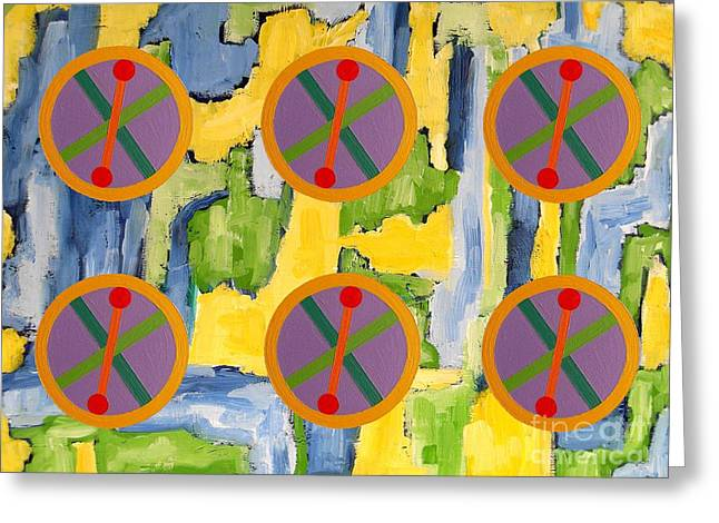 ABSTRACT 82 Greeting Card by Patrick J Murphy