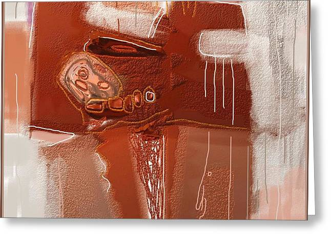 Abstract 946 Greeting Card by Nedunseralathan R
