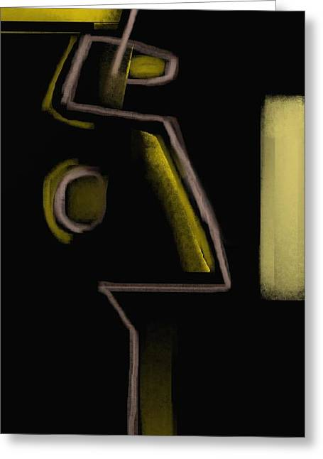 Abstract 964 Greeting Card by Nedunseralathan R